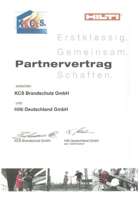 Zertifikat HILTI